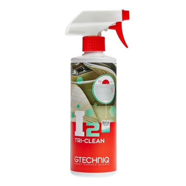 Gtechniq I2 Tri-Clean All Surface Interior Anti Bacterial Cleaner Deodoriser 500ml